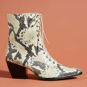 Anthropologie x Matisse Ready Go lace up boots